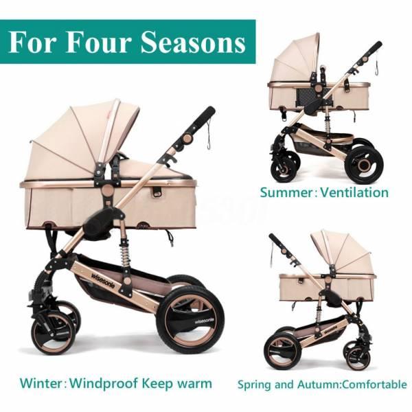 Buy Best Foldable Pram Pushchair Newborn Baby Stroller Buggy Carriage Infant Travel Car