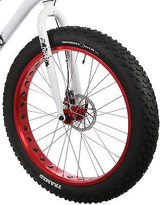 Framed Minnesota 2.0 Fat Bike White/Red