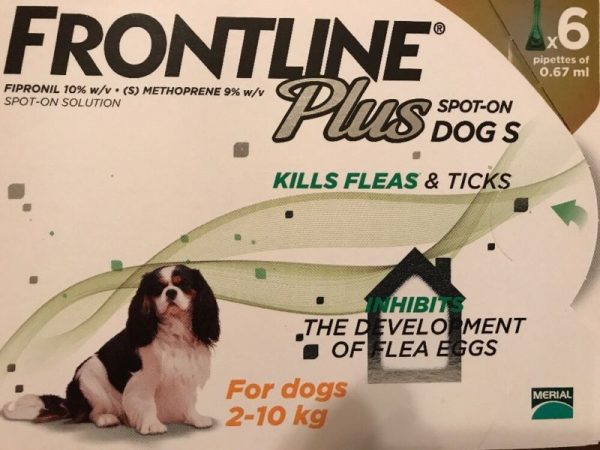 Frontline Plus 6 Months Supply For Small Dogs 0-22lbs *Authentic Hologram*