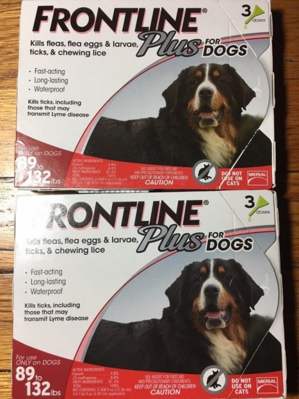 Buy Best Frontline Plus for Extra Large Dogs 89 - 132 lbs 6 Doses (Open or Damaged Box)