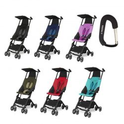 Buy Best GB Pockit Stroller W/Free Stroller Hook  - Black, Capri Blue, Red, Khaki, Navy