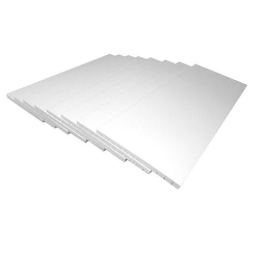 Garage Door Insulation Panel Kit (8-Pieces) Water Resistant Weather Protection
