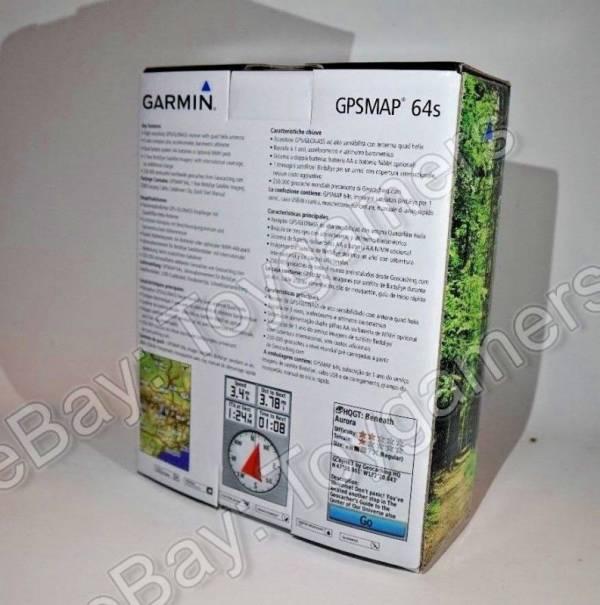 Garmin GPSMAP 64s Handheld GPS / GLONASS Receiver - Brand New - Free Shipping