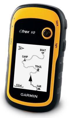"Garmin eTrex 10 Waterproof Handheld GPS Receiver W/ 2.2"" Backlit Display New"