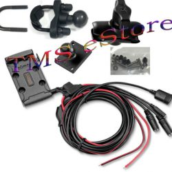 Buy Best Garmin zumo 590LM 595LM Motorcycle Handlebar Mount Kit w/ Power Cable RZ-1211000