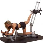 Glute Machine Lower Body Leg Workout- Powerline PGM200X Home Gym Weight Exercise