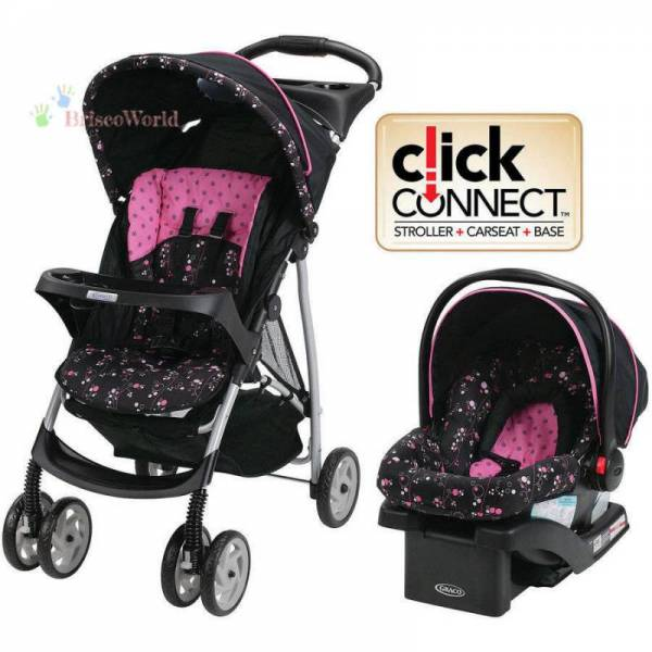Buy Best Graco LiteRider Click Connect Travel System with SnugRide Click Connect 22 Inf