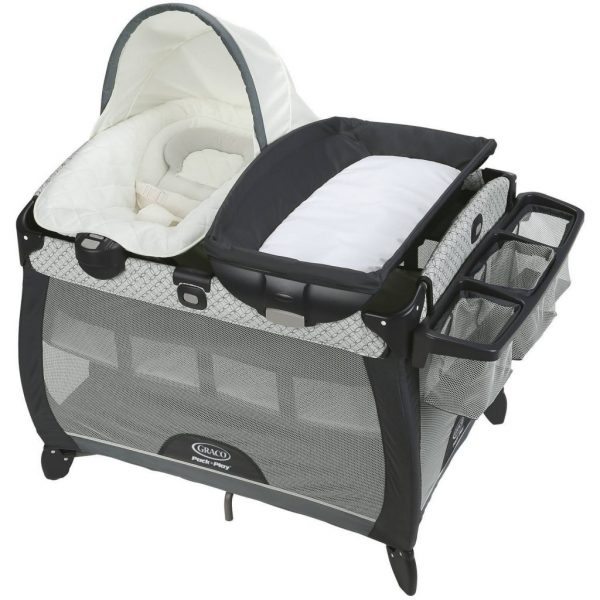 Buy Best Graco Pack 'n Play Quick Connect Portable Napper Deluxe with Bassinet, McKinley