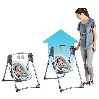 Graco® Slim Spaces™ Compact Baby Swing