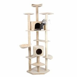 """Buy Best HIDING Cat Tree™ 79"""" Play House Condo Furniture Bed Tower Scratch Post Pole"""