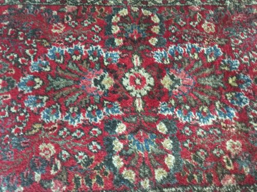 """Buy Best Hand Knotted Antique Hamadan Persian Oriental Rug- 50"""" X 30"""""""