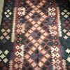 "Buy Best Hand Woven Antique Kilim Rug Runner 74"" Long"