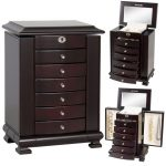 Buy Best Handcrafted Wooden Jewelry Box Organizer Wood Armoire Cabinet Storage Chest