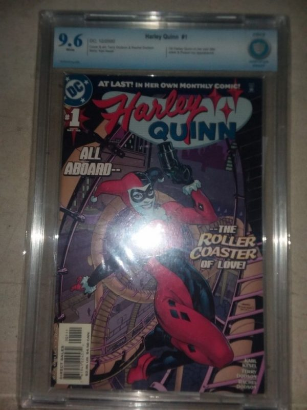 Harley Quinn #1 (December 2000, DC) Graded CBCS 9.6 With Extras