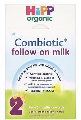 Buy Best HiPP Organic Combiotic Follow On Milk Stage 2 UK Version 800g 4 BOXES 02/2019
