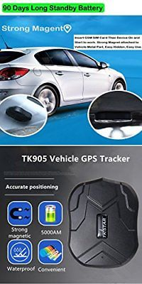 Hidden GPS Tracker For Car Van Vehicle Tracking Device Strong Magnetic Real Time