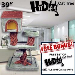 Buy Best Hiding Cat Tree Scratcher Play House Condo Furniture Toy Bed Post +FREE GIFT