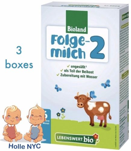Buy Best Holle Lebenswert Stage 2 Organic Formula,3 BOXES,500g 01/2019 FREE PRIORITY MAIL