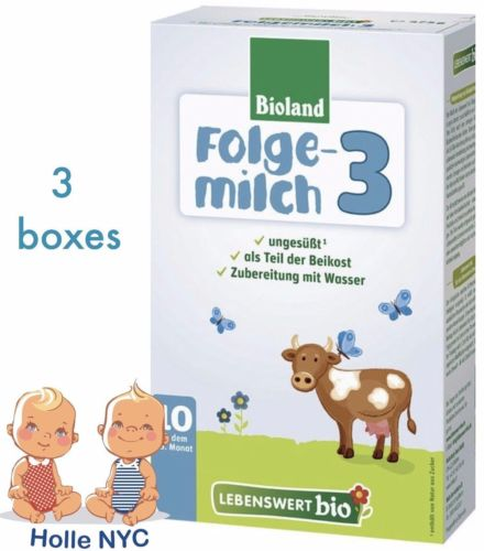 Buy Best Holle Lebenswert Stage 3 Organic Formula, 3 BOXES, 10/2018 FREE PRIORITY MAIL