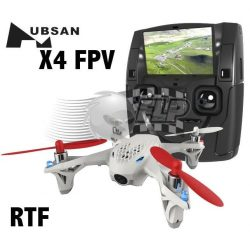 Buy Best Hubsan X4 FPV 5.8GHz  6 Axis RC Quadcopter Live LCD Video Camera Transmitter RTF