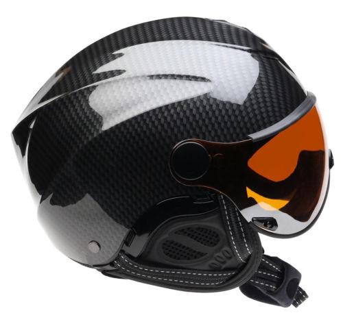 Icaro Nerv Helmet & Orange Visor for Paragliding, Hang Gliding, Speedriding