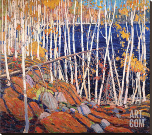 Buy Best In the North Land Artists Stretched Canvas Poster Print by Tom Thomson, 39x34...