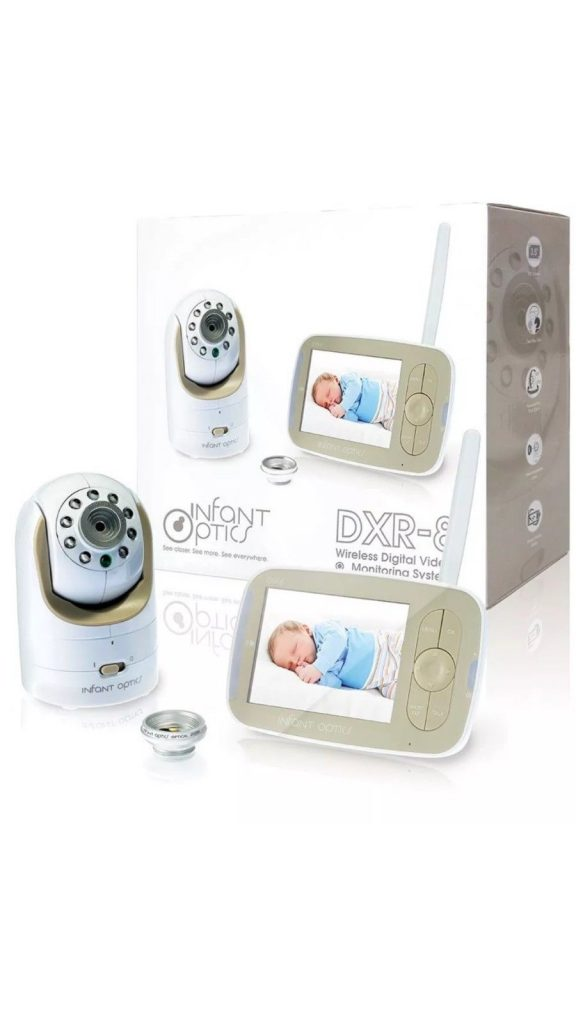 Infant Optics DXR-8 Video Baby Monitor, Interchangeable Optical Lens *OPENED BOX
