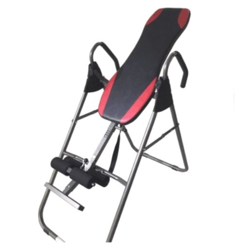 Inversion Table Back Neck Therapy Pain Exercise Reflexology Chiropractic Grey