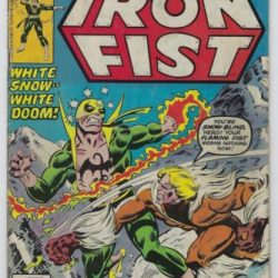 Iron Fist #14 (1977, Marvel) 1st App Sabretooth, Chris Claremont, Byrne, VG/VG+