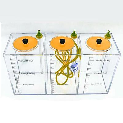 Buy Best JEBAO AQUARIUM DOSING 3 CHAMBER LIQUID CONTAINER 4.5 L- 1500ML/EACH CORAL BOX