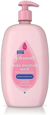 JOHNSON'S Baby Moisture Wash 28 oz (Pack of 9)
