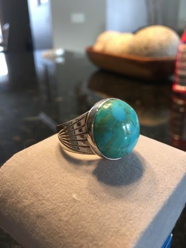 Jay King Mine Finds Turquoise Ring Size 10 BNWB