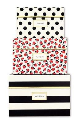 Buy Best KATE SPADE ROSE SET OF 3 NESTING BOXES