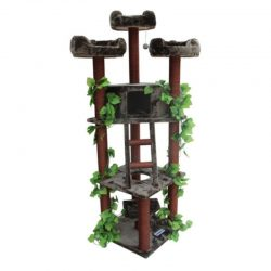 Buy Best Kitty Mansions Redwood 75 in. Cat Tree, 75