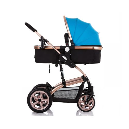 LUXURY Foldable BABY STROLLER PRAM BUGGY PUSHCHAIR CARRYCOT TRAVEL SAFE SYSTEM