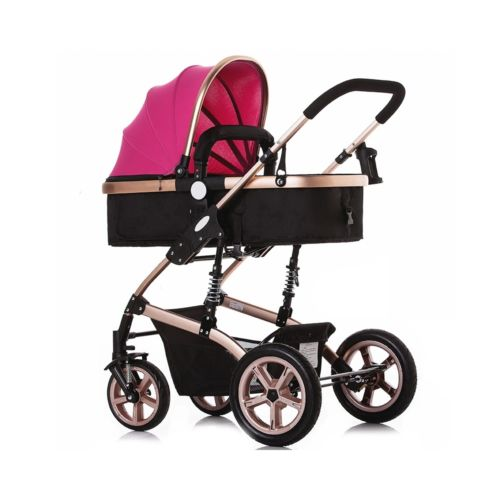 Buy Best LUXURY Foldable BABY STROLLER PRAM BUGGY PUSHCHAIR CARRYCOT TRAVEL SAFE SYSTEM