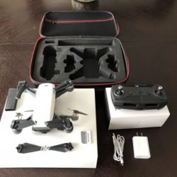 Like New DJI Spark camera drone with remote and extras