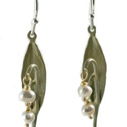 Lily of the Valley Earrings By Michael Michaud For Silver Seasons