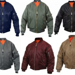 Buy Best MA-1 Bomber Jacket Flight Coat Air Force Military Reversible Rothco