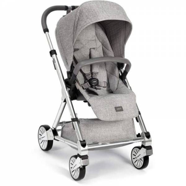 Mamas & Papas 2017 Urbo 2 Stroller & Bassinet Bundle in Skyline Grey Free Ship!