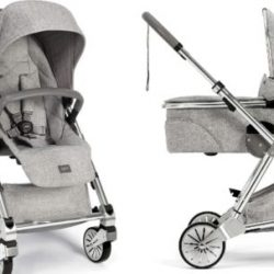 Buy Best Mamas & Papas 2017 Urbo 2 Stroller & Bassinet Bundle in Skyline Grey Free Ship!