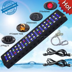 MarsAqua Dimmable 300W LED Aquarium Light Full Spectrum Reef Coral Marine Lamp