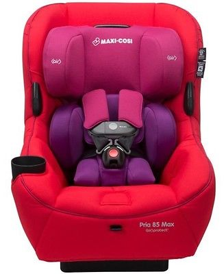 Buy Best Maxi-Cosi Pria 85 MAX Convertible Car Seat in Red Orchid New!! Free Shipping!!