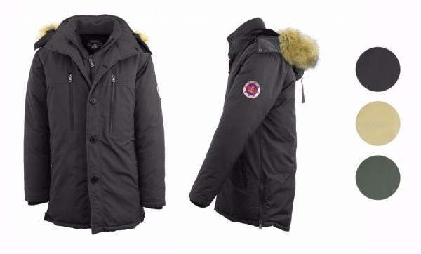 Buy Best Mens Heavyweight Parka Jacket Coat Outerwear Down Fur Hood Cold Winter Snow NWT