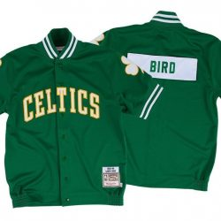 Men's NBA Mitchell & Ness - Authentic Shooting Shirt - 1983 Larry Bird Celtics