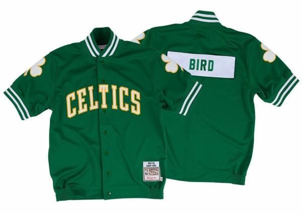Men's NBA Mitchell & Ness - Authentic Shooting Shirt - 1983 Larry Bird Celtics