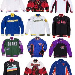 Men's NBA Mitchell & Ness Jacket - Authentic Warm Up - All Teams & Colors