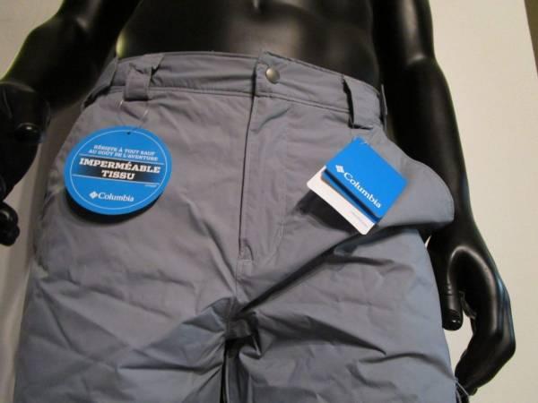Buy Best Mens S-M-L-XL-XXL Columbia Bull Lake Insulated Waterproof Snow Ski Pants - Gray