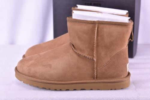 Buy Best Men's Ugg  1002072/CHE Classic Mini Boots Chestnut