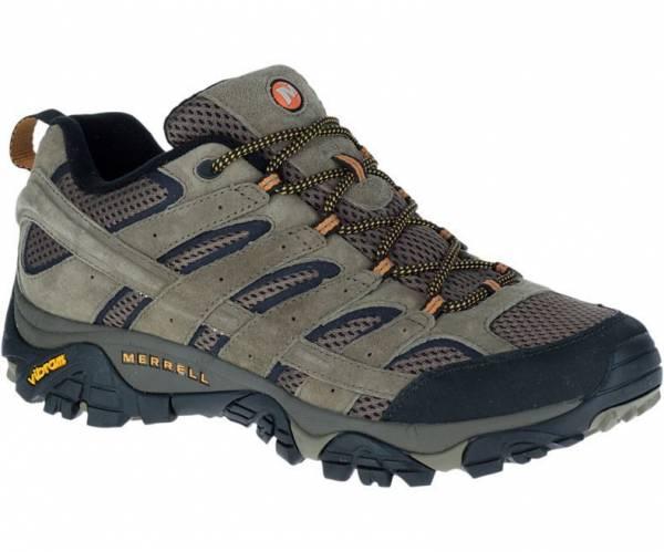 Merrell Men's Moab 2 Ventilator, Walnut - Mesh/Leather Hiking Shoes (J06011)